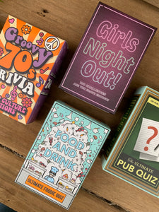Quiz Card Deck Games