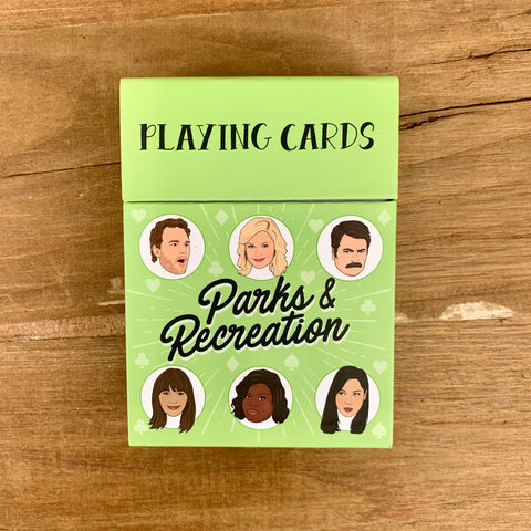 PARKS AND RECREATION Playing Card Deck