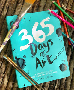 365 Days of Art Book