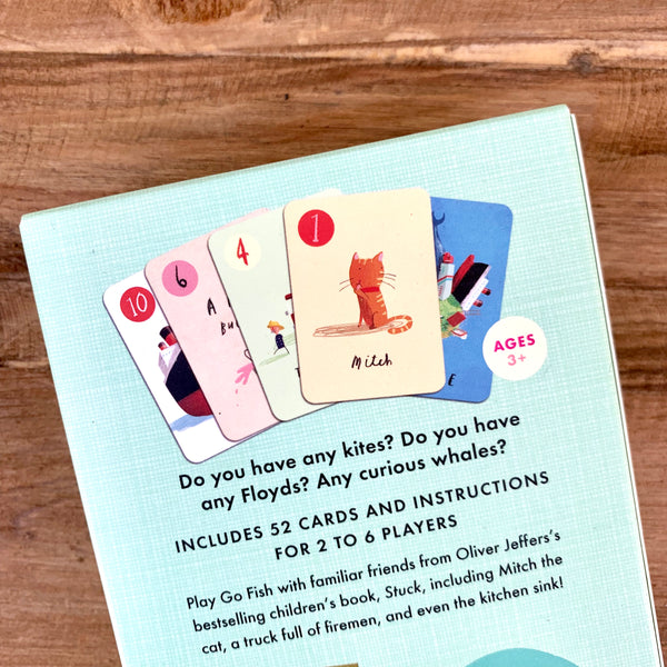 Go Fish Card Game - 3 in 1 card Deck