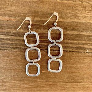 Square Dangle Earrings