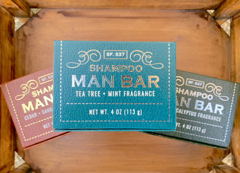 Man Bar Shampoo Bars