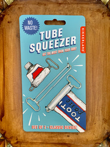 Tube Squeeze Keys