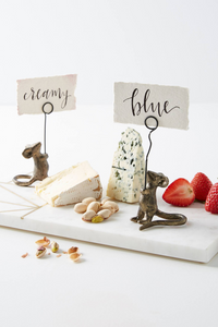 Mouse Cheese Card Holder