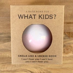 What Kids? Wine Scented Bath Bomb