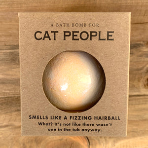 Cat People Milk Scented Bath Bomb