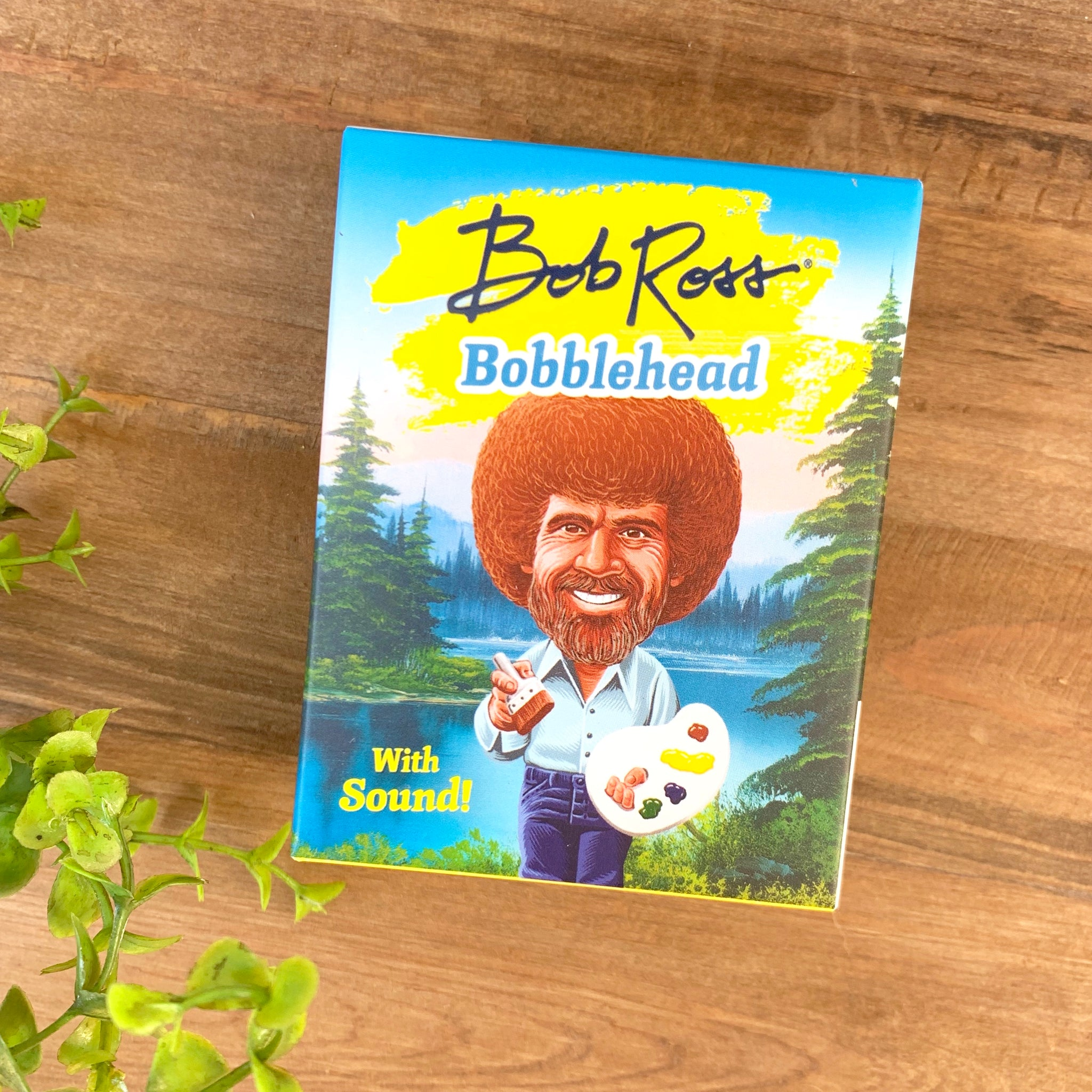 Bob Ross Bobblehead Box Mini