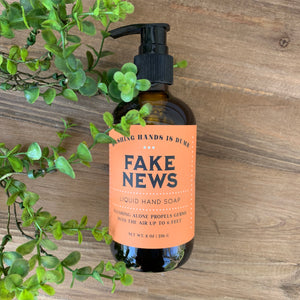 Fake News Tangerine Hand Soap