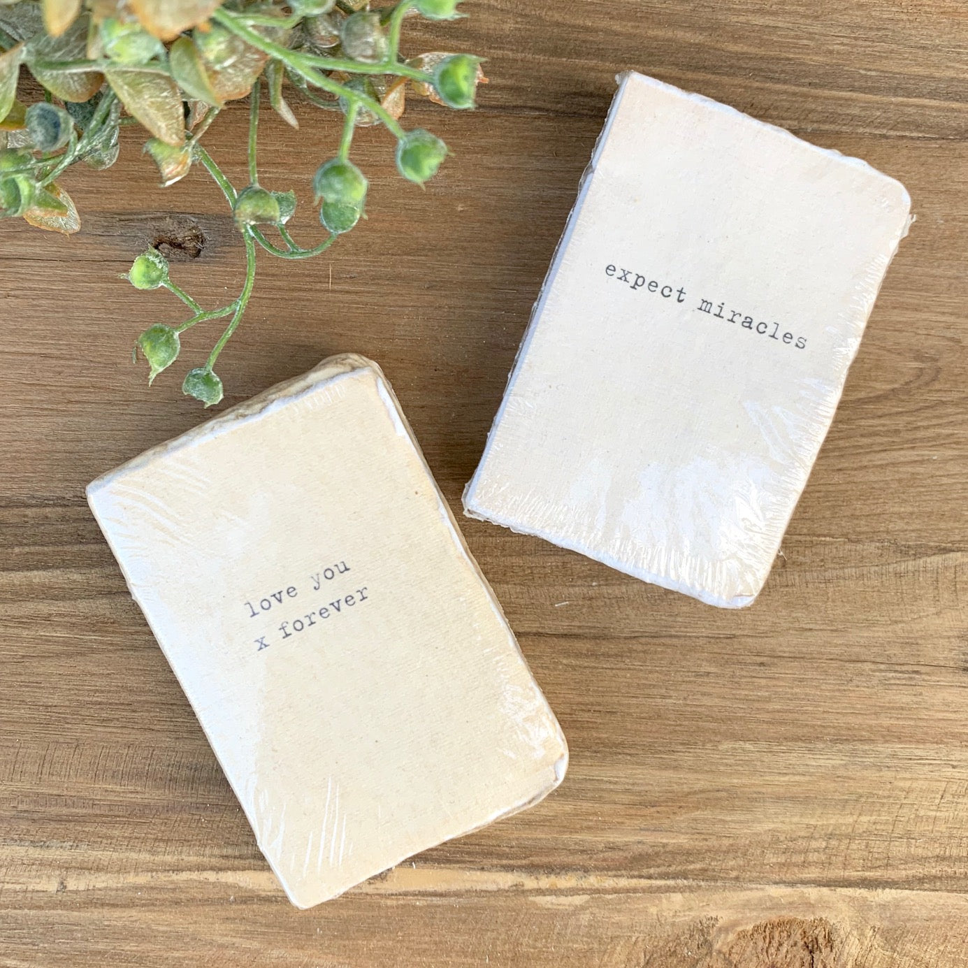 Mini Deckle Edge Notebooks