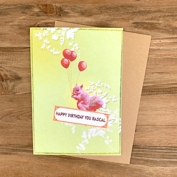 Gilded Floral Greeting Cards