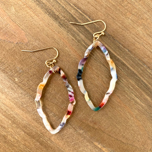 Confetti Acetate Earrings