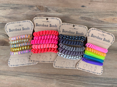 Barcelona Hair Tie Bands