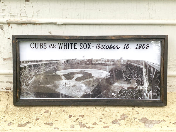 White Sox Vs. Cubs Circa 1909 *PORCH PICK-UP ONLY* (UNABLE TO SHIP)