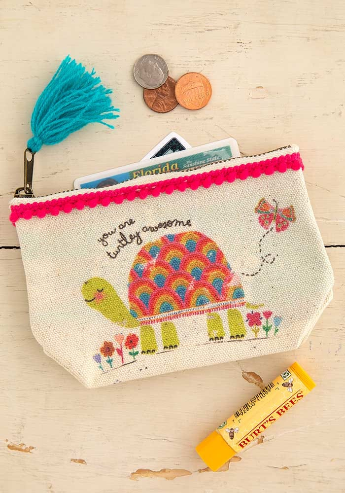 Turtley Awesome Mini Zip Pouch