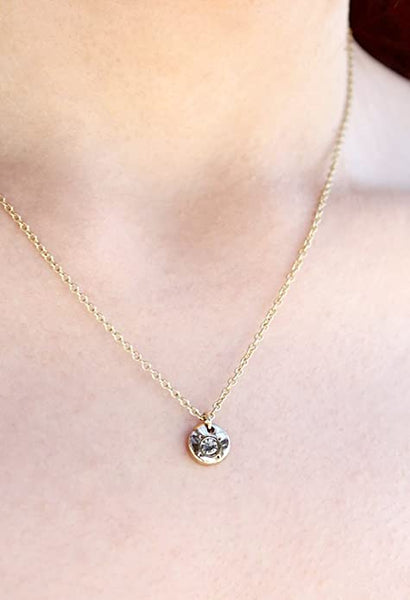 Birthstone Bottle Necklace