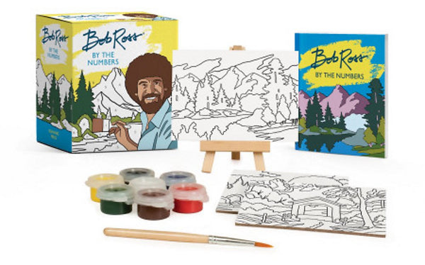 Bob Ross By the Numbers Paint Box Mini