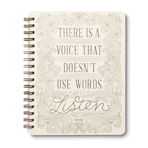 There's a Voice That Doesn't Use Words - Listen Rumi Journal