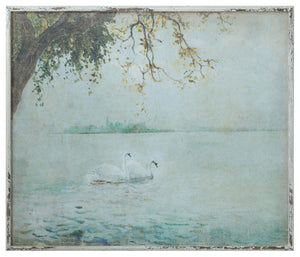 Swan Framed Wall Art *PORCH-SIDE PICKUP ONLY* UNABLE TO SHIP