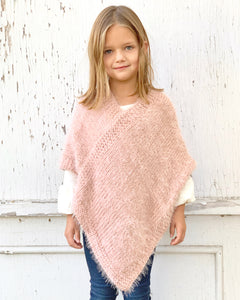 Super soft kids poncho