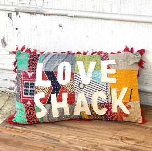 Love Shack Pillow