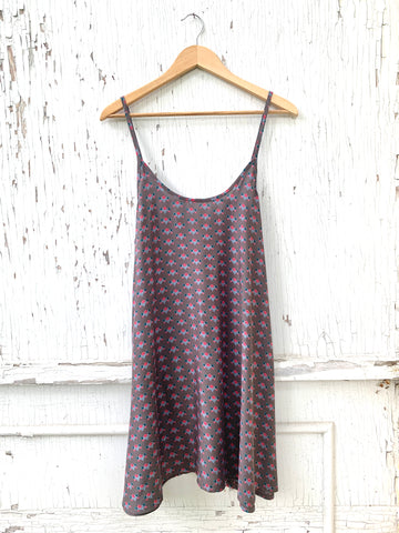 Strappy Floral Dot Dress