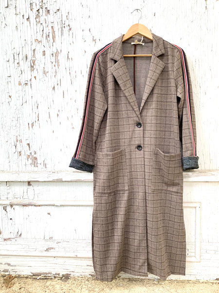Glencheck Autumn Duster