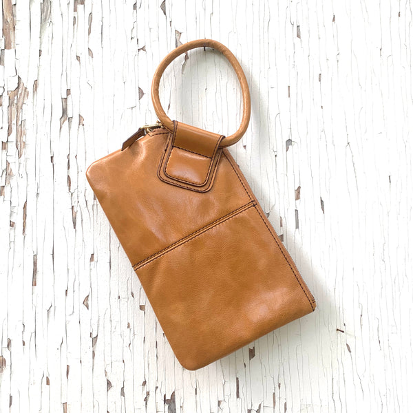 HOBO Sable Leather Wristlet