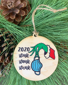 Stink, Stank, Stunk 2020 ornament
