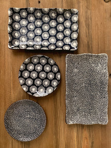 Midnite Ceramic Trays