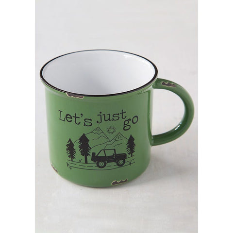 Let's Just Go Mug