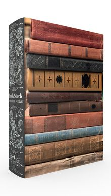 Book Stack Book Box 1,000 Piece Puzzle