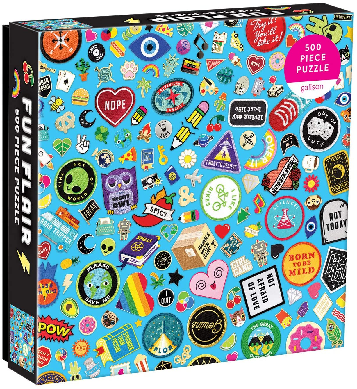 Fun Flair Puzzle 500 Piece Puzzle