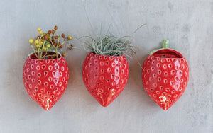 Strawberry Wall Planter