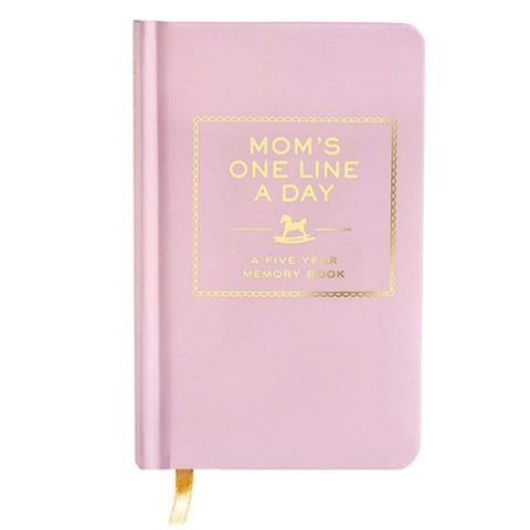 Mom's One Line a Day - 5 Year Memory Book