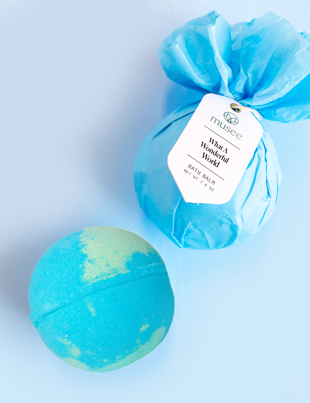 What a Wonderful World Bath Ball