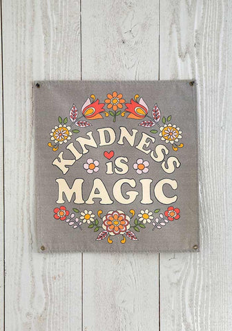 Kindness is Magic Mini Wall Canvas