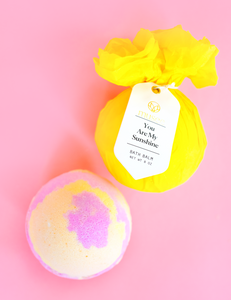 You Are My Sunshine Bath Ball