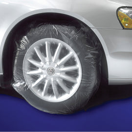 "Tire Masker - Large, Clear, Contoured -  45"" x 40""ty. 50 - Independent Dealer Services"