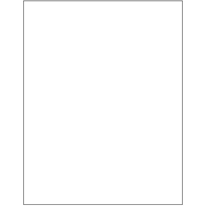 Floor Mat - Paper Plain White - 50#, Box of 500. - Independent Dealer Services