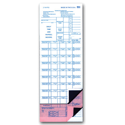 Job Time Ticket - JT-VW-PSG - Peel & Stickty. 1000 - Independent Dealer Services