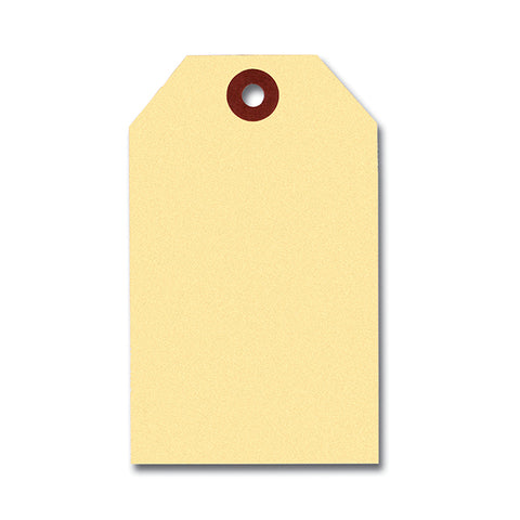 Manila Key Tags - Plain Manila Tag Only - Qty.1000 - Independent Dealer Services