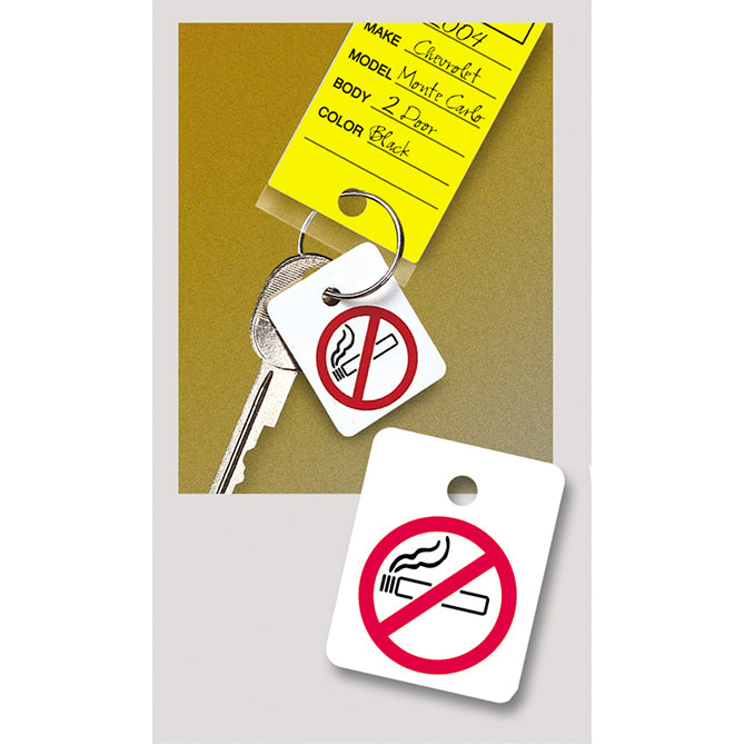 Key Fob - No Smoking Reminder for Key Ring  - Qty. 250 - Independent Dealer Services