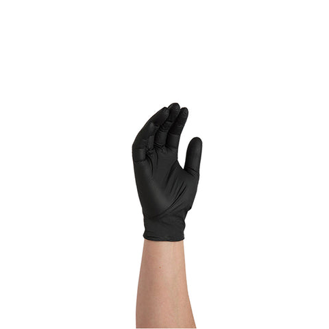 Black Nitrile Gloves - Powder Free - Independent Dealer Services