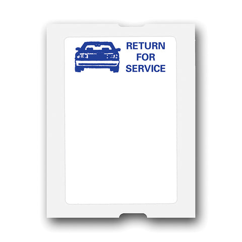Light Adhesive Labels - Blue Car - Long - For 5 in 1, ROLL of 500 - Independent Dealer Services