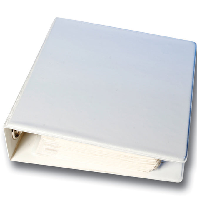 Vinyl Binder for Ring Book Color-Code Items (White) - Independent Dealer Services