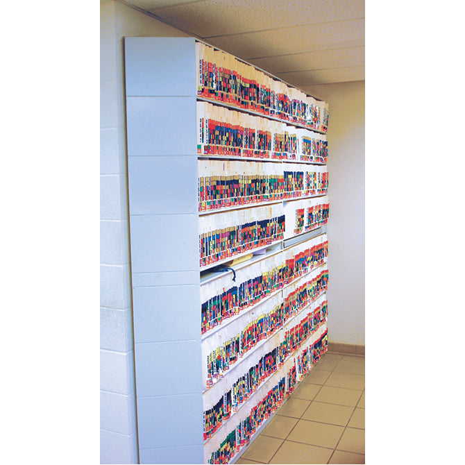 "48"" Color-Code Shelves, Slantedty. 1 - Independent Dealer Services"