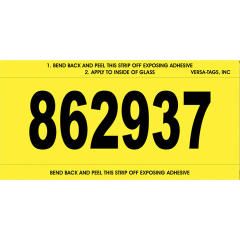 Stock Number Mini Signs - #650 - CUSTOM - Qty. 250 - Independent Dealer Services