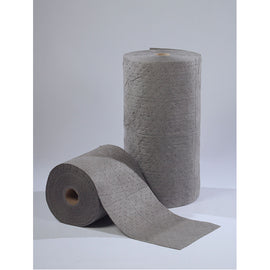 "Univ Gray Meltblown Sonic Bonded Rolls - 30"" x 150' -  Qty. 1 Roll - Independent Dealer Services"