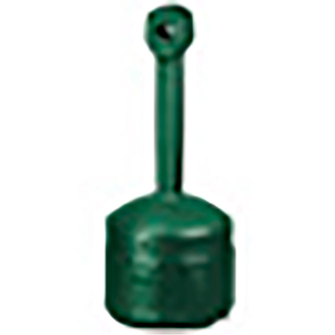 Smokers Cease-Fire Cigarette Butt Receptacle - GREEN - Qty. 1