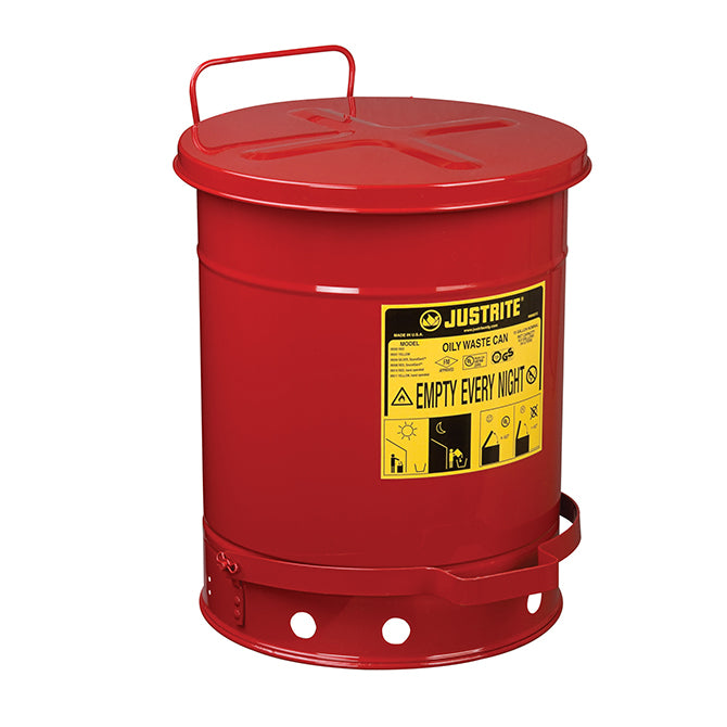 Oily Waste Can - 10 Gallon -  Qty. 1 - Independent Dealer Services